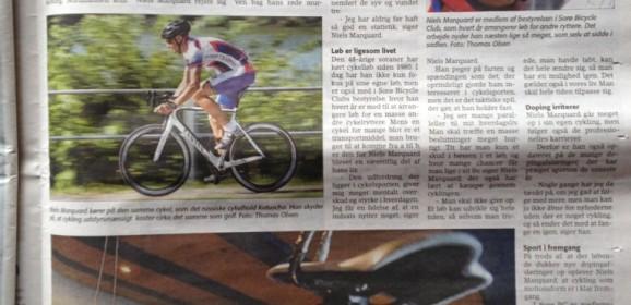 Helside artikkel med Niels Marquard i avisen…