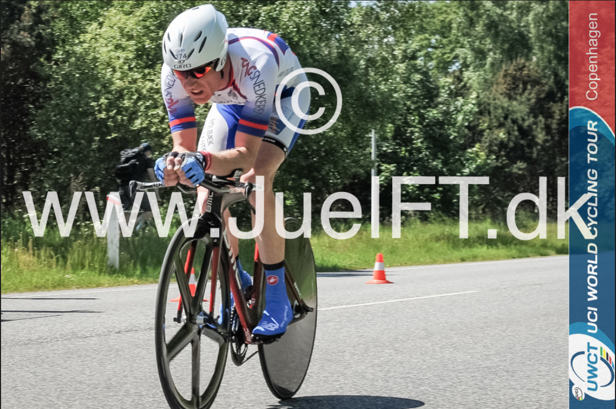 Morten Tillquist på vej hjem, inde på de sidste 5 kilometer.